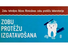 "Zobu tehniķa Ildzes Rimicānes zobu protēžu laboratorija, ""I.V. zobu dizains"", SIA"
