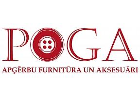 """""""Poga"""", veikals, apģērbu furnitūra un aksesuāri"""