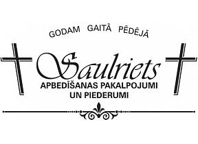 Saulriets I., Apbedīšanas birojs