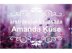 """Amandas Ķūses skaistumkopšanas kabinets"""