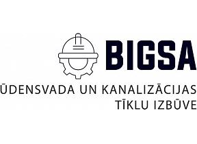 """""""BIGSA"""", SIA, Ūdensvadu un kanalizācijas tīklu izbūve"""